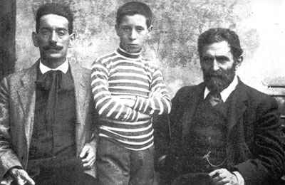 Errico Malatesta and Amedeo Boschi in 1913