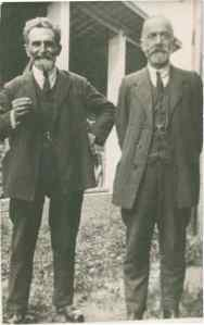 Errico Malatesta and Antoni Gagliardi, Saint Imier, 1922