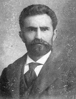 Errico Malatesta in Paterson, USA, 1900