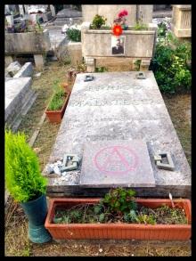 Malatesta's grave, Cimitero Comunale Monumentale Campo Verano, Rome, Italy